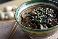 soba with wasabi vinaigrette