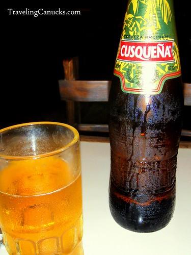 Cusquena Cerveza, Cusco Peru