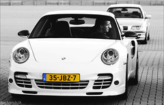 997 Turbo (R.Arends) Tags: white black grey 911 turbo porsche zwart wit gijs 4s carrera 996 993 997 914 trofee vijverberg guno