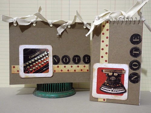 """Note"" Card and Notebook Set"