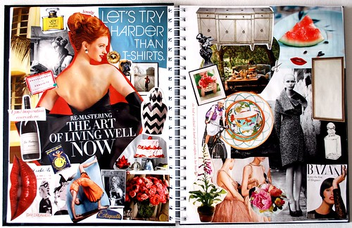 Blogging Your Way Mood Board -- Everyday Treats