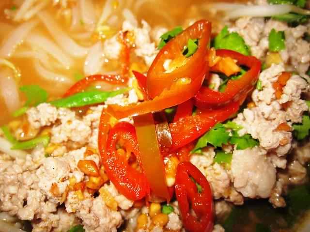 Thailand Noodle Culture Porkchop Tom Yum Noodle