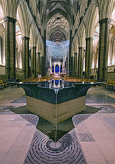 The Font Salibury Cathedral (tramsteer) Tags: longexposure england usa reflection art church water fountain architecture photoshop lowlight nikon cathedral edited faith tripod christian font northamerica backlit slate salisburycathedral anglican churchofengland wonderfulworld williampye explorepage elitephotography tramsteer brucemunro
