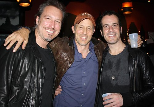 John Corbett, Jon Gries and Tara Novick