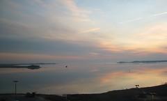 Dawn's Early Light (Little Chubby Panda) Tags: morning water sunrise dawn coast shore langley langleyafb langleyairforcebase