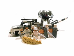 PACOM: Arctic Division. (Lego Junkie.) Tags: white snow death wolf iron power lego scout arctic suit sniper ba mecha dusters brickarms