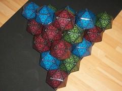 Icosahedral pyramid