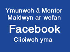 Ymunwch a menter ar facebook