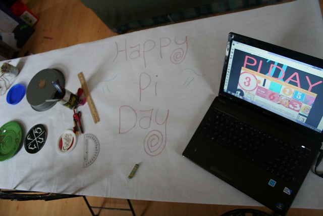 3/14:  Happy Pi Day!