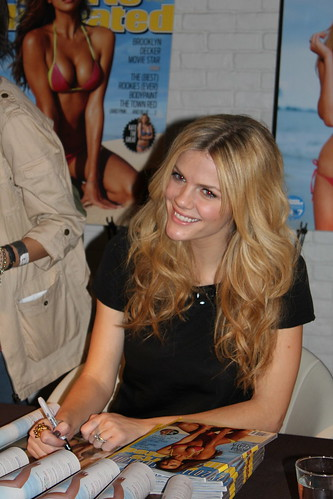 Sports Illustrated Swimsuit Model Brooklyn Decker at STK's Autograph Signing Event in The Cosmopolitan of Las Vegas