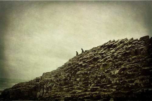 The Giant's Causeway on a Rainy Afternoon I