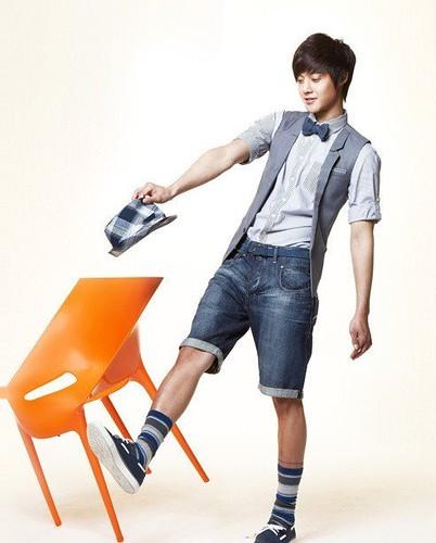 South Korean actor Kim Hyun Joong casual apparel photo _4_