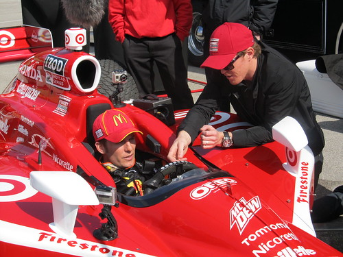 Scott Dixon and Jamie McMurray