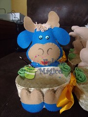 Cocoric (Feltro Mgico) Tags: feltro decorao cocoric centrodemesa enfeitedemesa