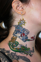 Dragon Tattoo Machine