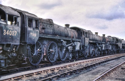 Steam Loco Scrapyard 1968