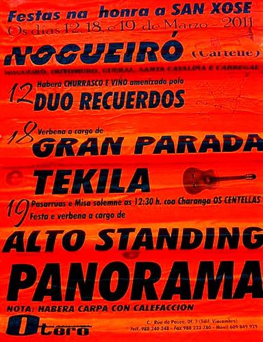 Cartelle 2011 - San Xosé en Nogueiró - cartel