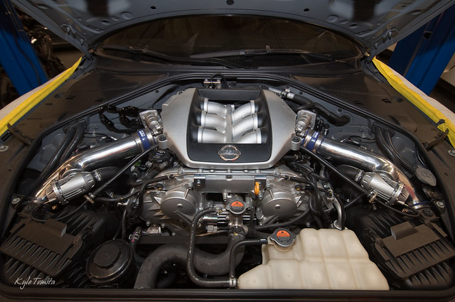 Nissan GT-R with PSI Fuel System