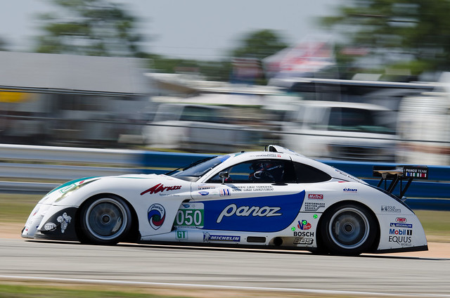 Sebring 2011 - ALMS / ILMC Practice & Qualify - Panoz Racing Panoz Abruzzi