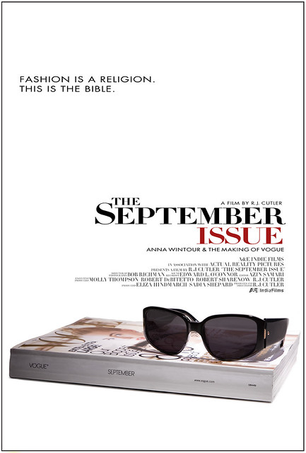 """The September Issue"" Movie Poster"