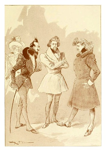 022-Los romanticos-Le 19e siècle 1888- Albert Robida