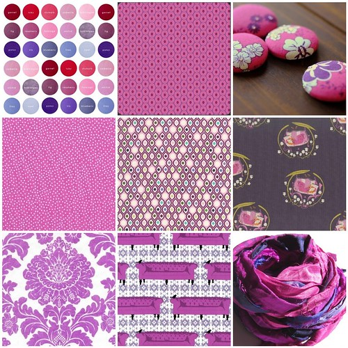 Purple Inspiration Mosaic