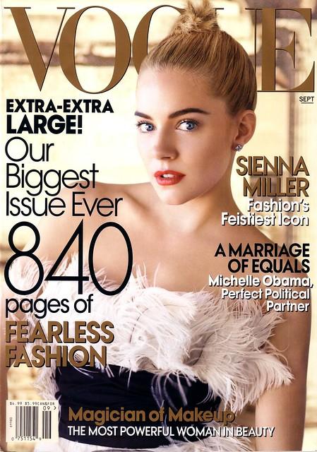 Sienna Miller: Vogue Cover- Sept 2007