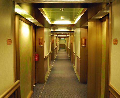 Lido Deck Starboard Hallway
