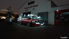 BMW E30 (torquayadam) Tags: light painting 328 bmw e30 bmwe30 tz7 worldcars zs3 panasonictz7 panasoniczs3 rede30 e3024v e30328 e30coupe tz7panasonic
