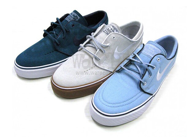 dark teal janoski on the left