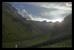 WINNATS PASS (vicki127.) Tags: road sunlight signs green grass car fence canon300d peakdistrict bluesky hills drystonewall castleton winnatspass fluffyclouds digitalcameraclub beautifulphoto youmademyday mywinner platinumphoto flickraward elitephotography thisphotorocks ilovemypics march2011 placesyouvisit artofimages hairygitselite adobephotoshopcs5 ringofexcellence vickiburrows vicki127