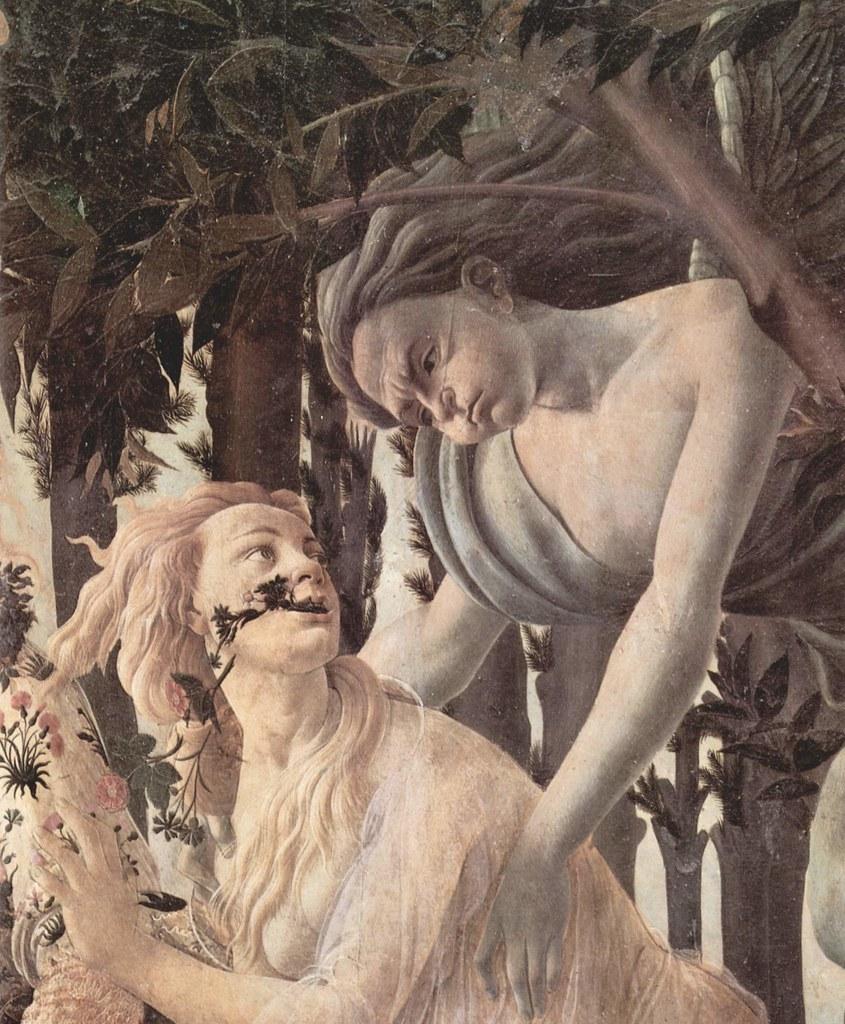 Le Printemps de Botticelli - Flore & Zéphyr