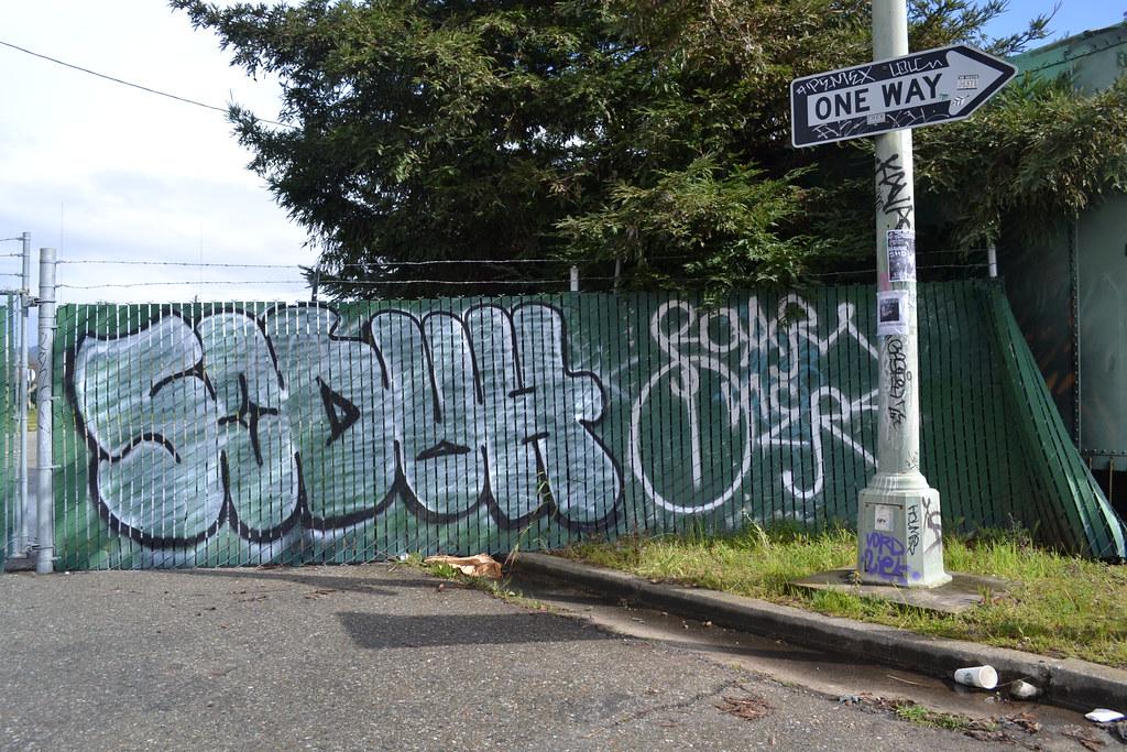 SODUH, ROAR, Oakland, Street Art, KAVA, PEMEX, Graffiti, Street Art