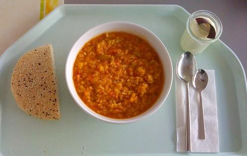 Orientalischer Reis-Linsen-Eintopf / Rice lentil stew oriental style