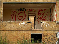 At The Ghetto (Alex Ellison) Tags: urban graffiti tag atg greenlanes northlondon kingscrescentestate attheghetto