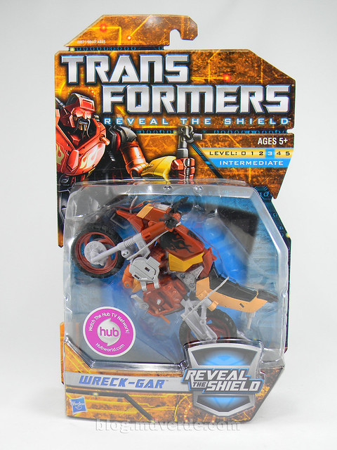 Transformers Wreck-Gar Reveal the Shield Deluxe - caja