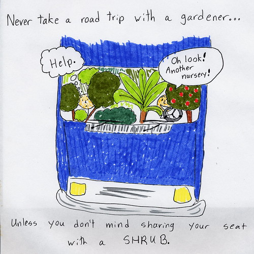 Road trip with a gardener