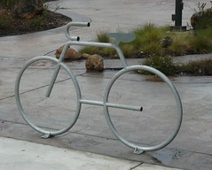 Now, this is a bike rack!