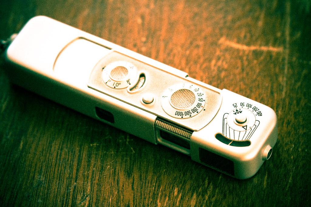 Minox B spy camera