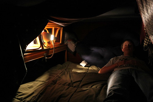 blanket fort/man cave