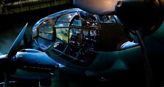 Night-Raider.. (mickb6265) Tags: museum transport ww2 bomber raf troop luftwaffe hendon junkersjumo battleofbritainhall heinkelhe111h20 701152