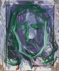 28 óleo sobre tabla   98x81 cm 2005 (arteneoexpresionista) Tags: rando jorge figuras pinturas neoexpresionismo