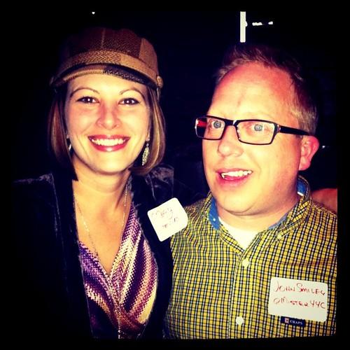 Me & @misteryyc at Calgary Twestival #yyc #yyctwestival