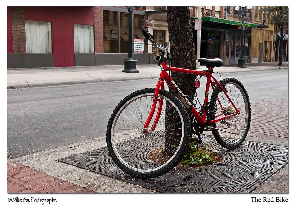 The Red Bike.