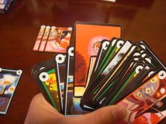 山札の中らから扉カードを探します