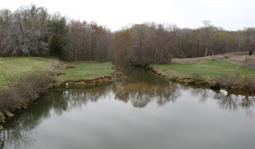 Beginning of Reedy Fork Creek