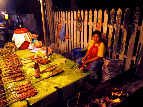 Luang Prabang - comida callejera