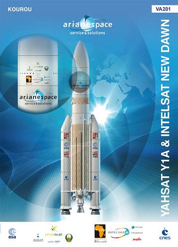 5570770349 c9421d54f5 Nueva misión de Ariane 5, Yahsat Y1A y New Dawn