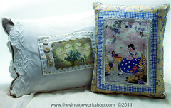 Vintage Images Pillows
