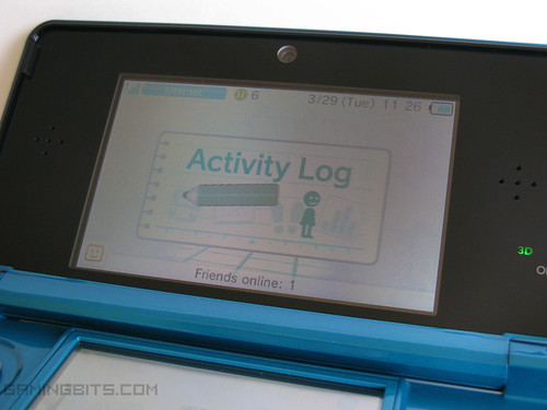 Nintendo 3DS features - Activity Log and Play Coins